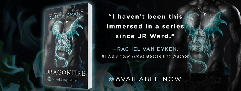 Release Day: DragonFire by Donna Grant